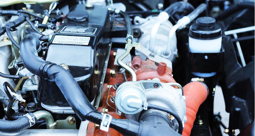 Đánh giá động cơ của xe tải Vĩnh Phát KR750L 3.5 tấn thùng 5.2m