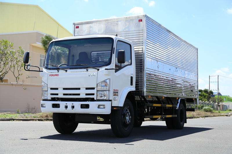 Đánh giá về ngoại thất của xe tải Vĩnh Phát KR750L
