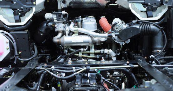 Động cơ 4JB1CN hiện đại, tiết kiệm nhiên liệu tối đa