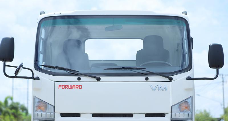 Gương chiếu hậu của xe tải Vĩnh Phát KR750L 3.5 tấn
