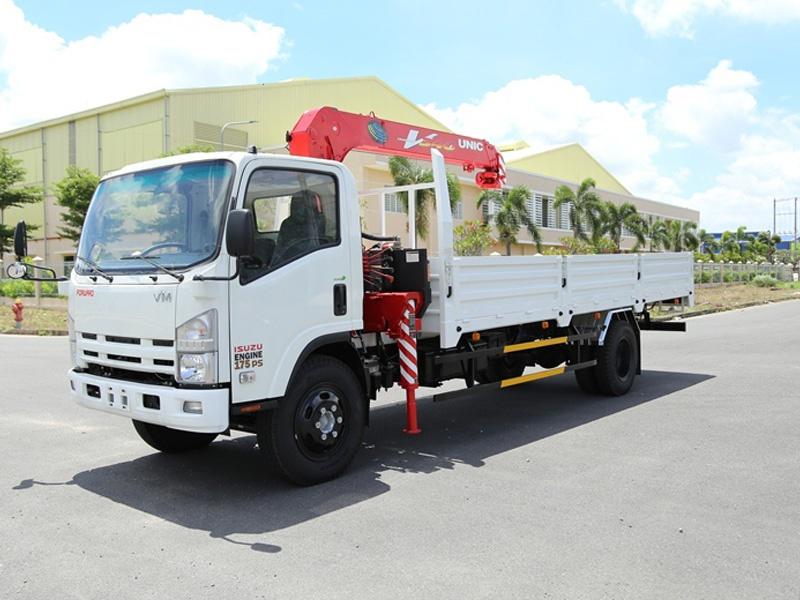 Xe Tải Vĩnh Phát FN129L4 8.2 tấn thùng dài 7m
