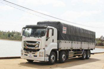 Xe Tải Vĩnh Phát GINGA 370 18 tấn 2 cầu thùng dài 10m