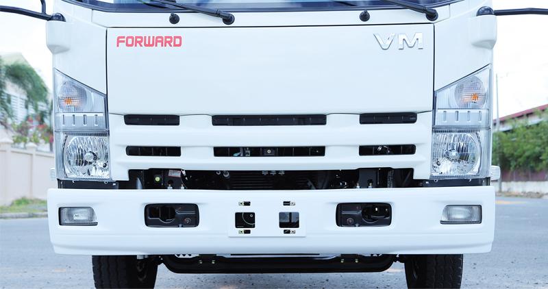 cụm đèn pha của xe tải Vĩnh Phát KR750L