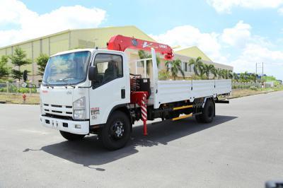 Mẫu xe tải Vĩnh Phát FN129L gắn cẩu