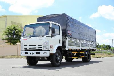 Mẫu xe tải Vĩnh Phát FN129L thùng bạc