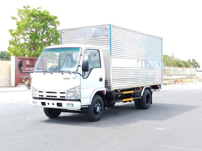 Mẫu xe tải Vĩnh Phát NK470 đang được săn đón