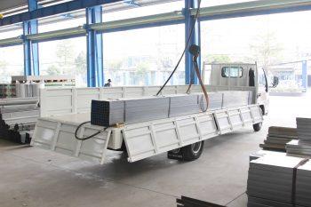nk490sl trọng tải hàng: 1.800kg
