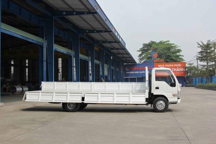 Xe Tải Vĩnh Phát NK490SL chất lượng linh kiện đảm bảo toàn cầu của Isuzu