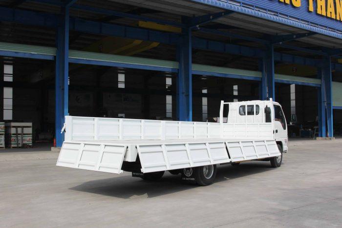 Xe tải vĩnh phát nk490sl kích thước toàn bộ xe: 7960 x 1960 x 2180(mm)