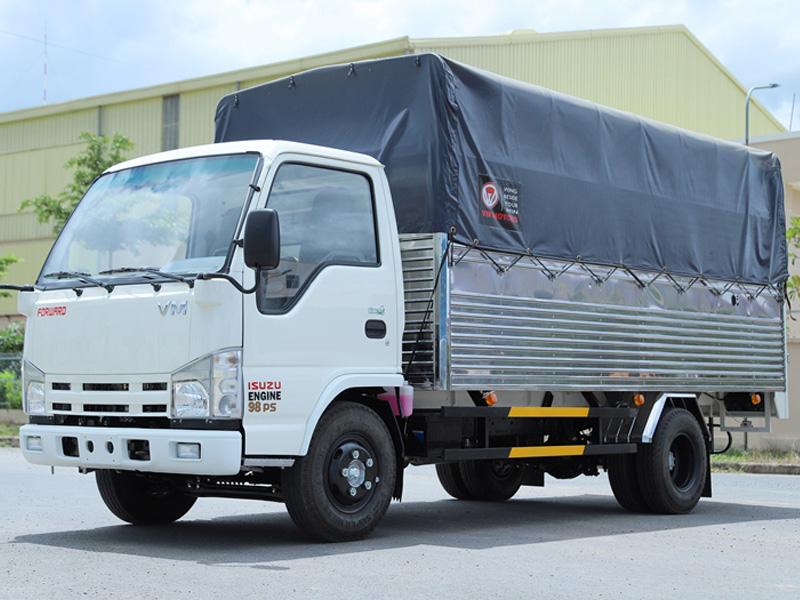 Dòng xe tải Vĩnh Phát NK650L tập trung nhiều ưu điểm vượt trội