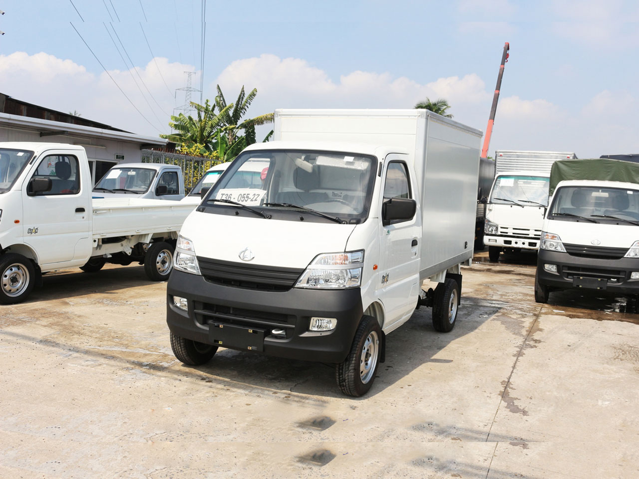 Các dòng xe tải thùng kín tải trọng nhẹ được ưa chuộng