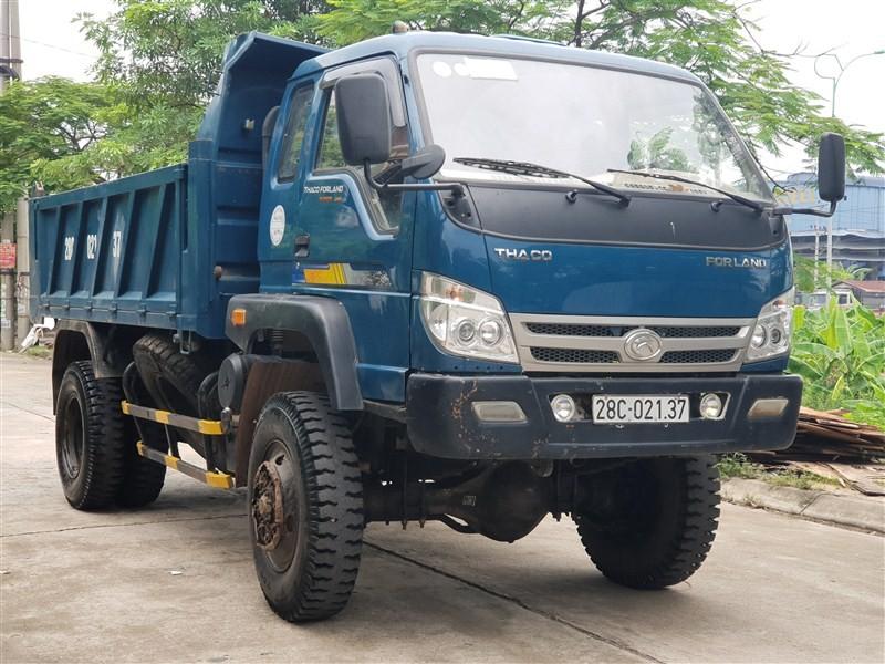 Thiết kế của xe tải tự đổ