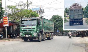 Các xe tải phải qua kiểm tra tải trọng trong khi lưu thông