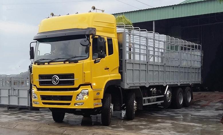 Công dụng của xe tải hạng nặng