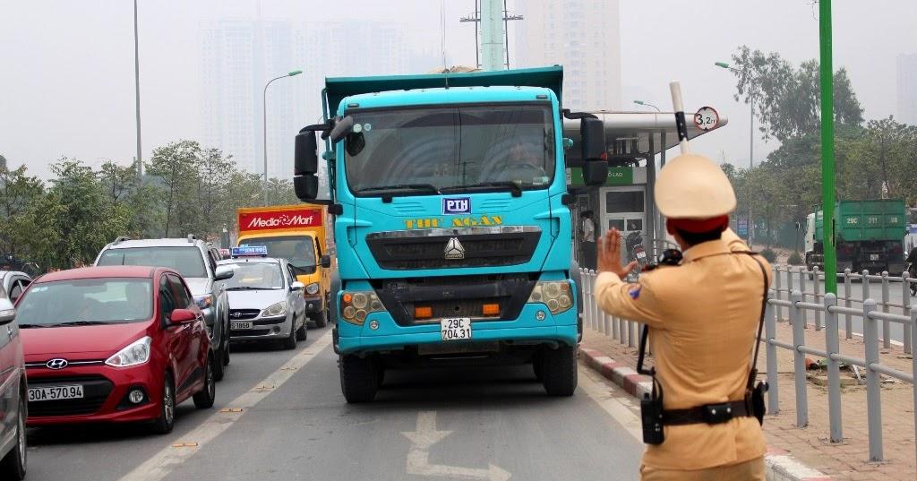 Mức phạt quá trọng lượng cho phép trên xe tải