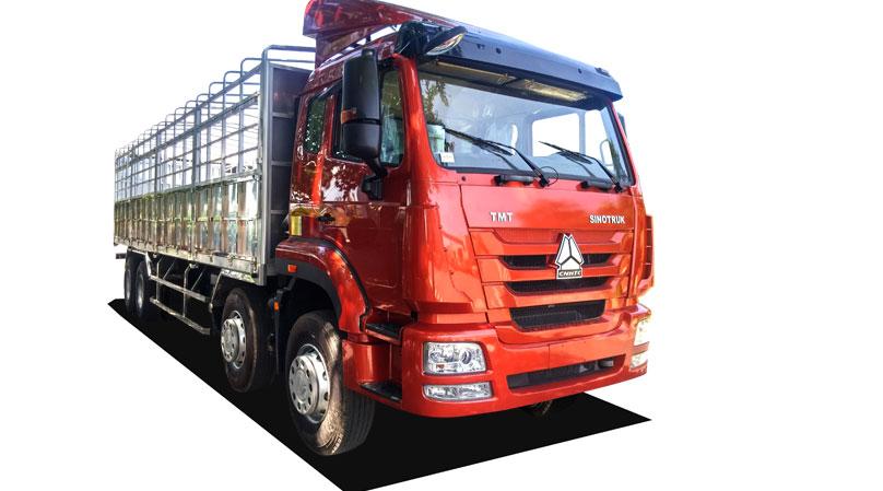 Trọng tải thiết kế của ô tô tải chuyên dùng