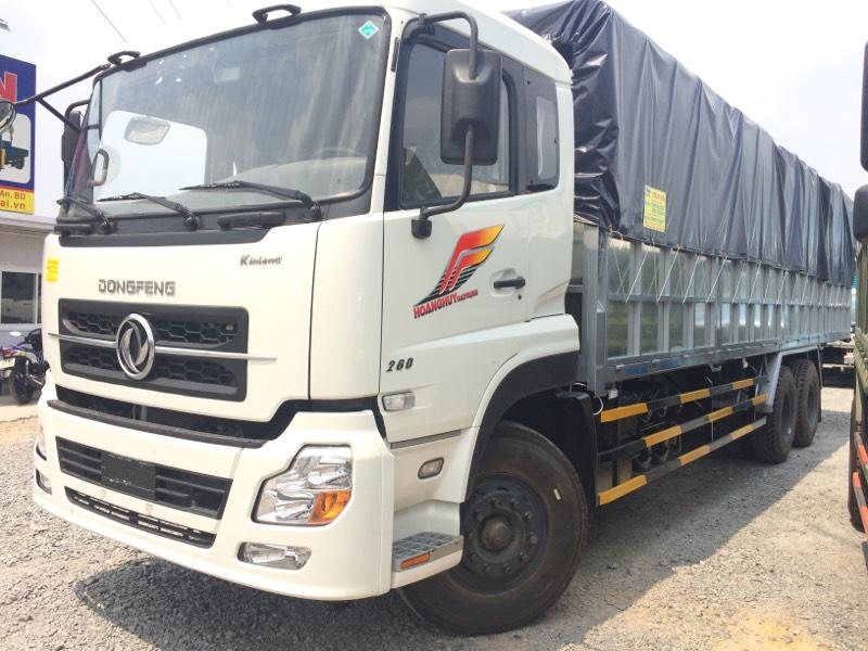 Xe 3 trục phù hợp vận chuyển hàng hóa đi đường xa