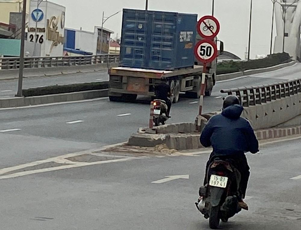 Xe lưu thông trên cầu cần đảm bảo đúng trọng lượng quy định