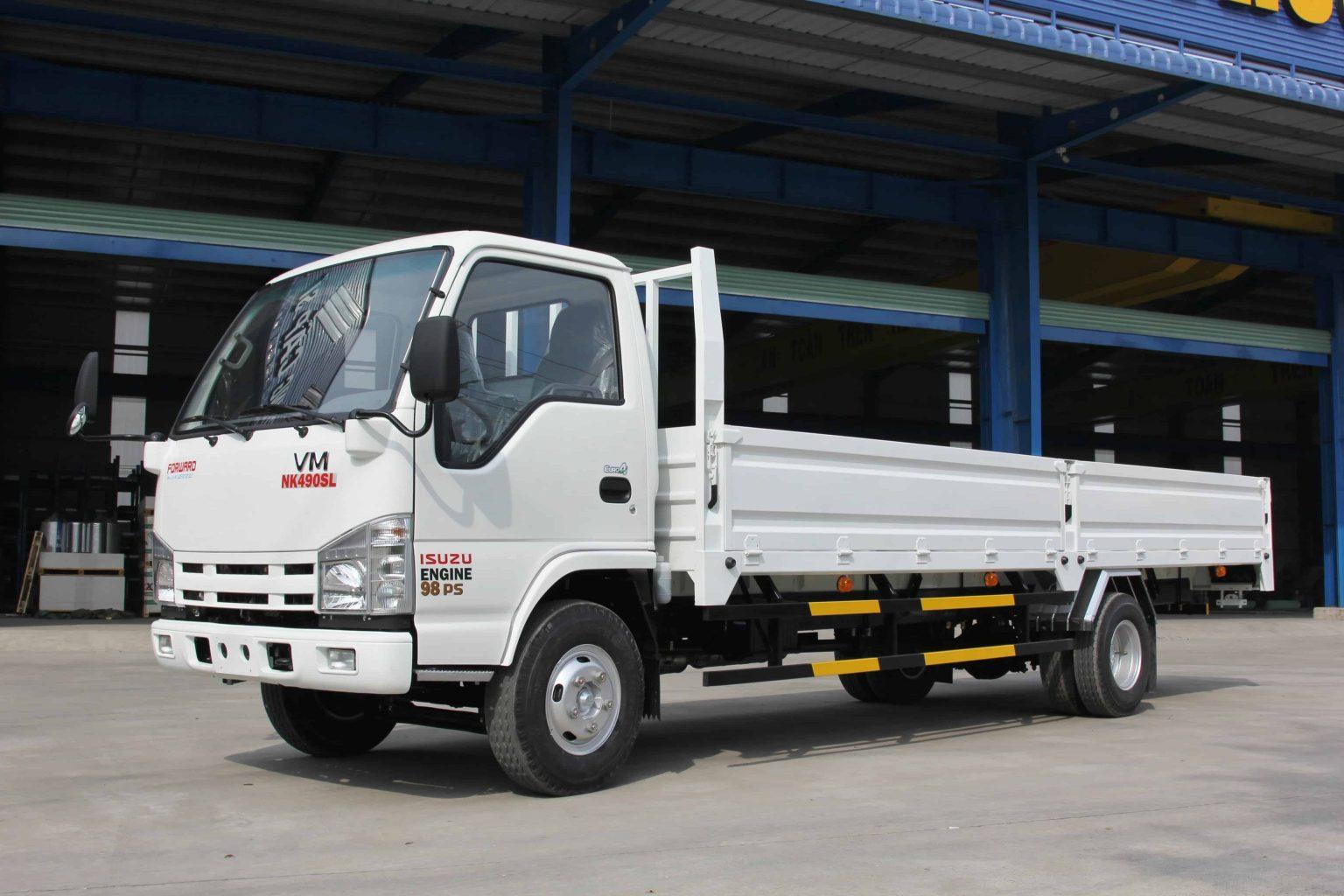Xe tải 2 chân trọng tải dưới 3.5 tấn