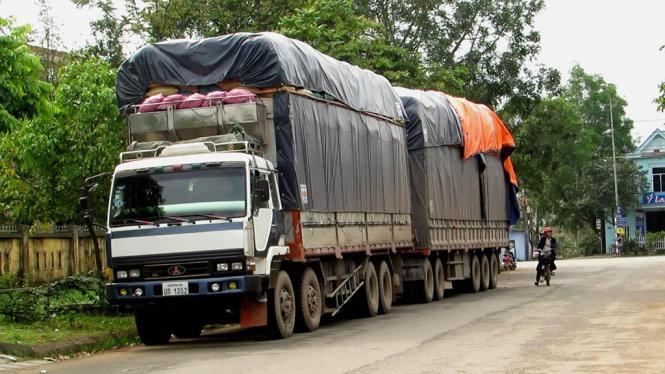 Chiều cao xếp hàng hóa trên xe tải