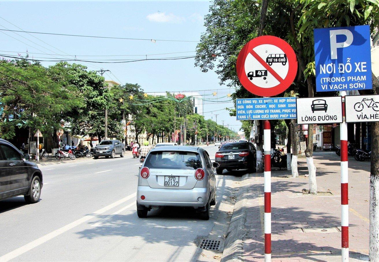 Đường cấm xe tải là tuyến đường không cho phép xe tải hoạt động