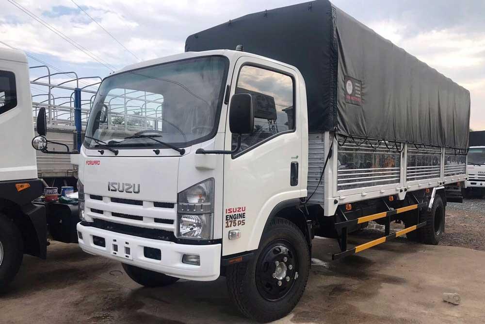 Xe tải Isuzu VM 8t2 là dòng xe chất lượng được nhiều người sử dụng