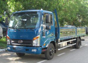 Xe tải Veam 1t9 thùng 6m2 đáp ứng mọi nhu cầu của khách hàng