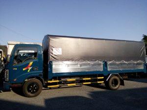 Xe tải veam thùng dài 6m2