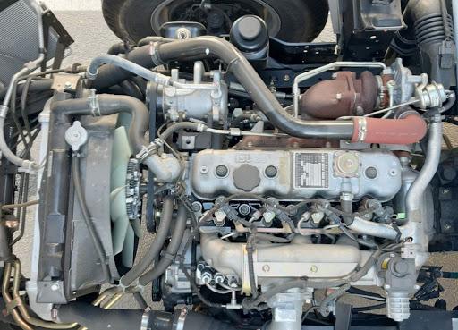 Động cơ xe tải hoạt động bền bỉ, an toàn