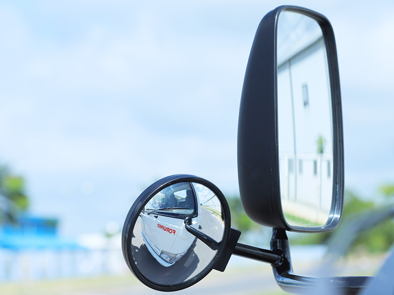 Gương chiếu hậu tối ưu quan sát cho người lái xe
