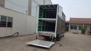 Thùng bạt, thùng kín, thùng đông lạnh,... đều được tích hợp trong một chiếc xe