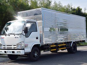Thùng xe dài 6.2m tiện dụng chuyên chở nhiều loại hàng hóa