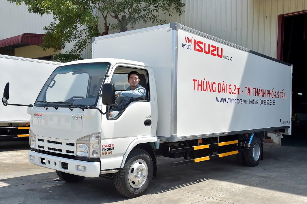 Xe tải NK490SL được nhiều người chọn lựa khi chở hàng