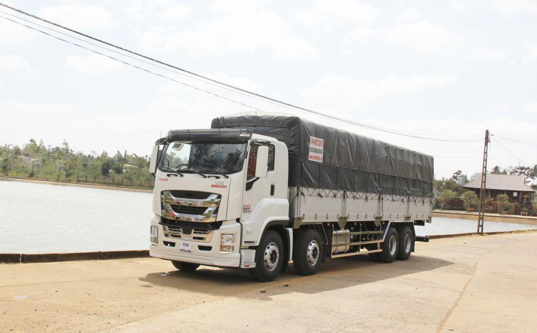 Xe tải isuzu siêu dài sở hữu những đặc điểm nổi bật