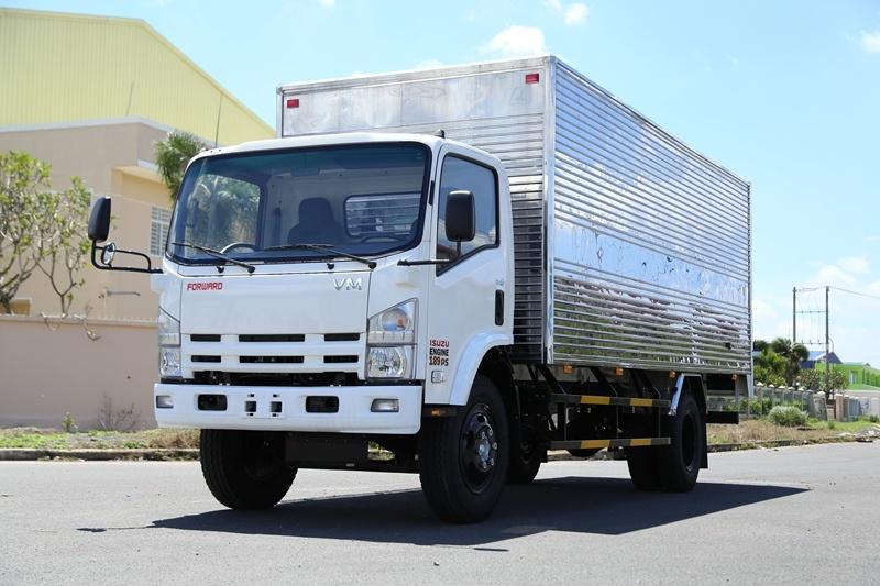 Xe tải thùng dài 6.2m tải trọng 3.5 tấn