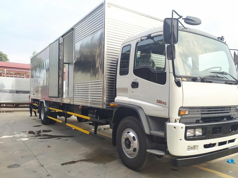 Xe tải FTR160SL thùng dài 10m trọng tải 8 tấn
