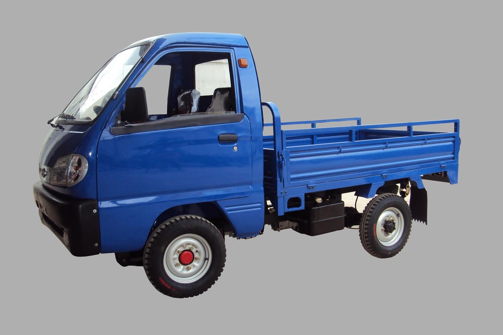 Xe tải chở hàng nhẹ được sử dụng rộng rãi